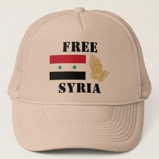 FREE SYRIA TRUCKER HAT