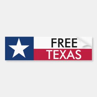 Free Texas Bumper Sticket Bumper Sticker