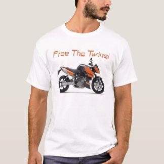 Free the 990 Superdukes, black trim T-Shirt