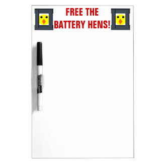 Free the Battery Hens Memo Board