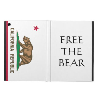 Free The Bear California Independence iPad Case