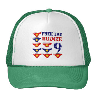 Free the budgie 9 cap