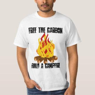 Free The CarbonBuild a Campfire T-Shirt