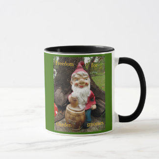 Free the Garden gnomes Mug