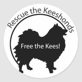Free the Kees! Classic Round Sticker