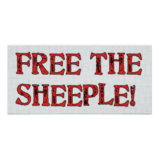 Free The Sheeple! Poster