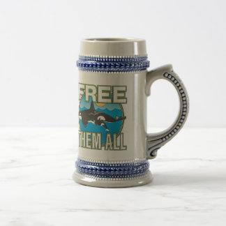 Free Them All Whales Mug