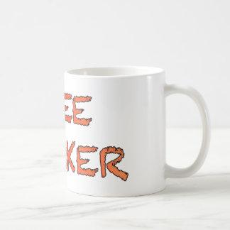 free thinker basic white mug