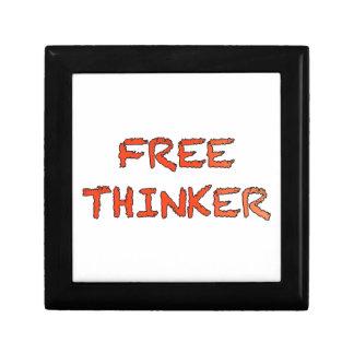 free thinker keepsake boxes