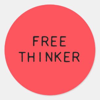 Free Thinker Sticker