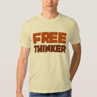 Free Thinker using Logic and Reason T-shirt