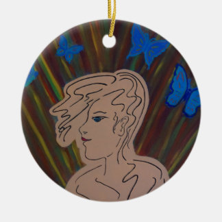 free thoughts christmas ornament