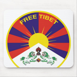 Free Tibet Alfombrillas De Ratones