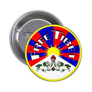 Free Tibet Badge Pins