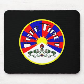 Free Tibet Badge Mouse Pad