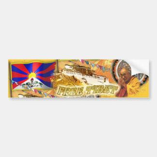 Free Tibet Bumper Sticker