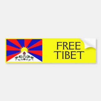 FREE TIBET Bumper Sticker 2