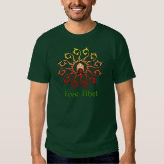 Free Tibet Candle Tee Shirt