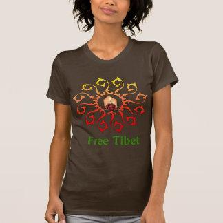 Free Tibet Candle Tshirts