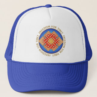Free Tibet Eternal Knot Cap