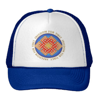 Free Tibet Eternal Knot Cap Hat