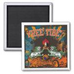 Free Tibet Grunge Art