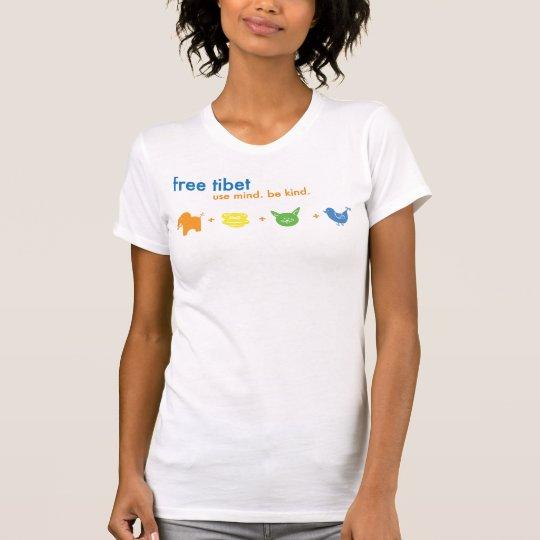 Free Tibet Hannah Shirt