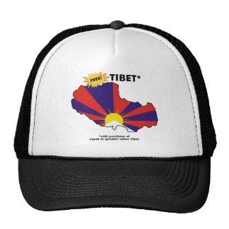 Free Tibet* Mesh Hat