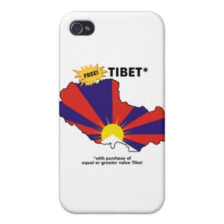 Free Tibet* iPhone 4 Cases