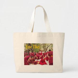 Free Tibet Jumbo Tote Bag