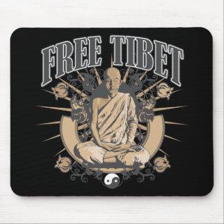 Free Tibet Monk Mouse Mat