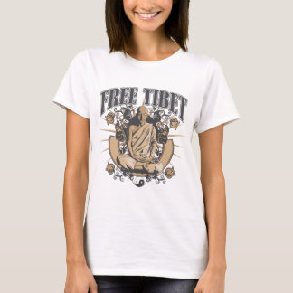 Free Tibet Monk T-Shirt