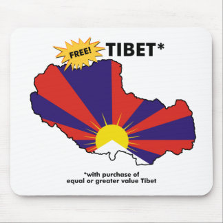 Free Tibet* Mouse Mat