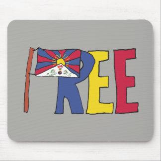 Free Tibet Mouse Mat