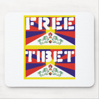 Free Tibet! Mouse Mat
