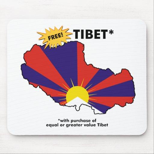 Free Tibet* Mouse Pad