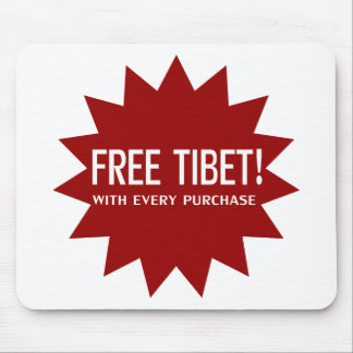 Free Tibet Mouse Pads