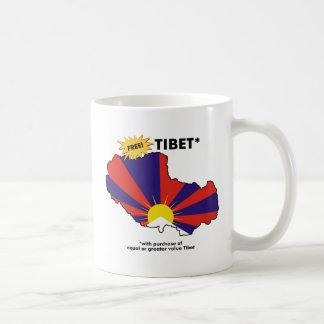 Free Tibet* Mugs
