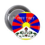 FREE TIBET Pin