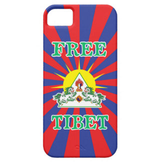 Free Tibet Snow Lions and Sun Symbol iPhone 5 Cases