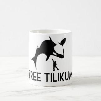 Free Tilikum Save the Orca Killer Whale Basic White Mug