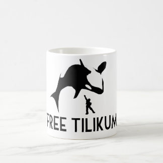 Free Tilikum Save the Orca Killer Whale Coffee Mug