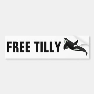 Free Tilly Bumper Sticker
