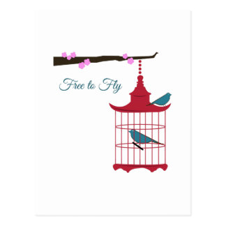 Free to Fly Postcard
