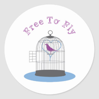Free To Fly Sticker