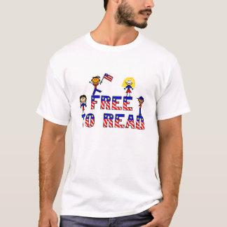 Free to Read w Kids, Ladies White EDUN LIVE T T-Shirt