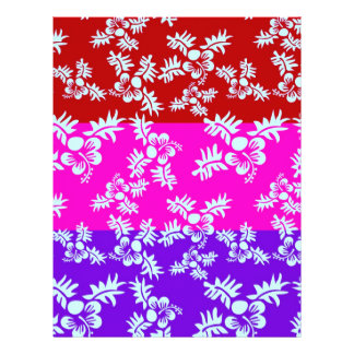 Free Vector Seamless Flower Pattern2 21.5 Cm X 28 Cm Flyer