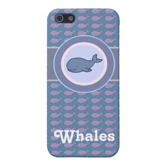 free whales iPhone 5/5S cases