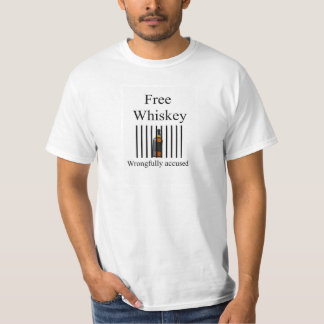free whiskey t-shirt