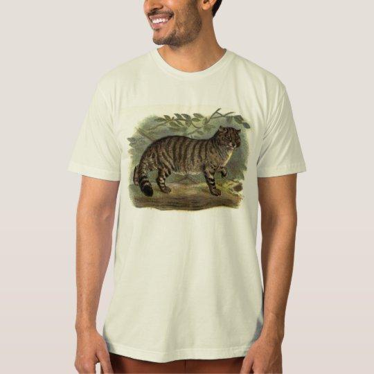 Free Wildcat Art apparel T-Shirt